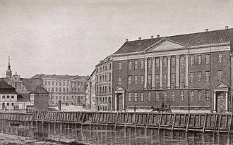 Holmens Kanal - Holmens Kanal, c. 1850
