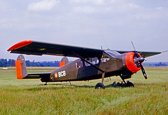Max Holste Broussard - Operational French Army MH.1521M Broussard at Toussus-le-Noble airfield in 1965