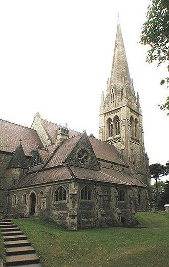 Henry Woodyer - Holy Innocents, Highnam, Gloucestershire