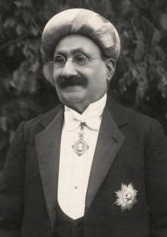 Ibrahim Rahimtoola - Image: Hon. Sir Ibrahim Rahimtoola