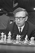 Hoogovenschaaktoernooi, Smyslov (USSR), kop, Bestanddeelnr 925-3008.jpg