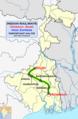 Hool Express (Howrah - Siuri) Route map.png