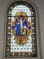 Hoquy (Chéraute, Pyr-Atl, Fr) vitrail Christ crucifié.JPG