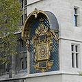 Horloge de Charles V - L'Horloge de la Conciergerie, vue de l'autre côté du cerrefour.jpg