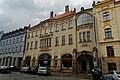 Hradec Králové - Palackého - View South on Okresní dům 1903-04 by Jan Kotěra I.jpg