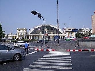 Transport in Thailand - Hua Lamphong Railway Station.