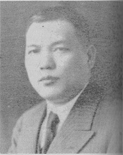 Huang Shaohong Chinese politician