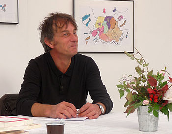 English: French writer Hubert Mingarelli Franç...