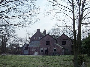 Grade II* listed buildings in Cheshire West and Chester - Image: Hulme Hall geograph.org.uk 383339