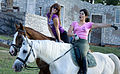 Hungarian Horse girls - Pécs, European Capital of Culture.jpg