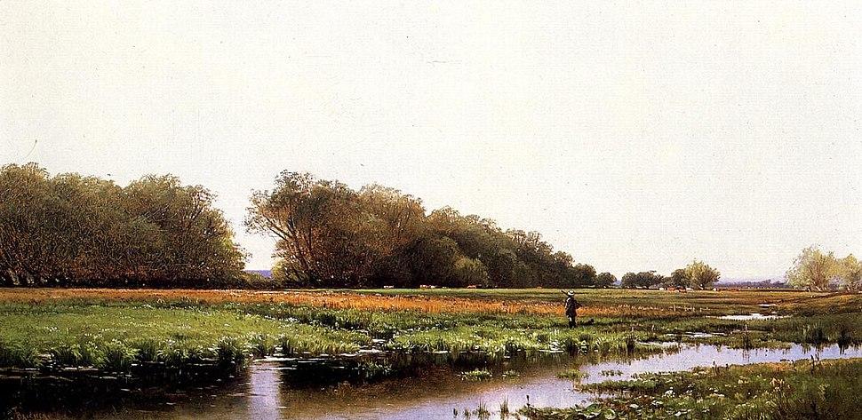 Hunter in the Meadows of Old Newburyport Massachusetts.jpeg