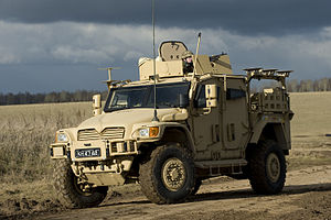 International MXT-MV - British 'Husky TSV' armoured vehicle
