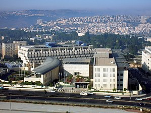 Foreign relations of Israel - The Israeli Foreign Ministry in Jerusalem.