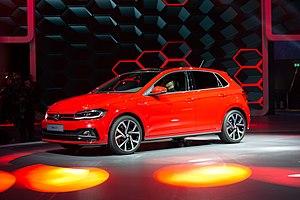 Volkswagen Polo - Image: IAA 2017, Frankfurt (1Y7A1954)