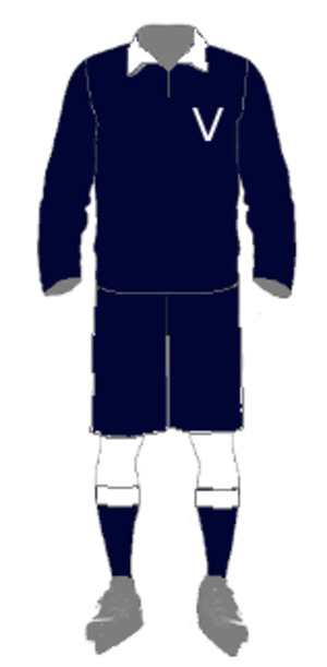 1922 Goodall Cup Finals - The uniform for Victoria 1922