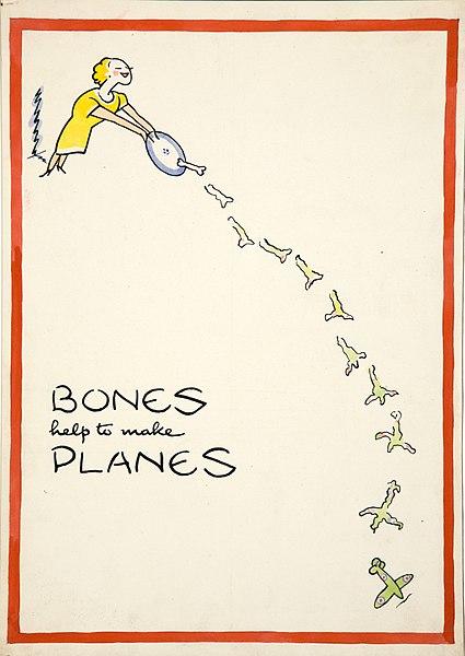 File:INF3-201 Salvage Bones help to make planes Artist Fougasse.jpg