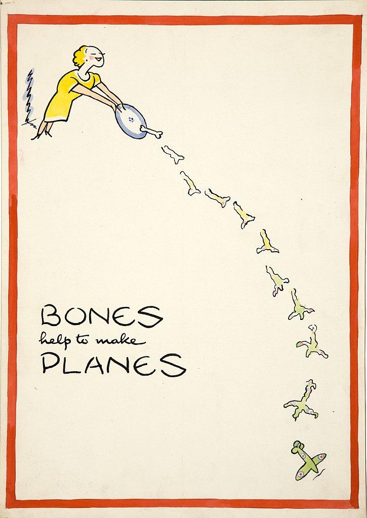 how to make bones hdenser