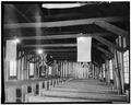 INTERIOR, TRUSS SYSTEM - Church of the Holy Family, State Route 157, Cahokia, St. Clair County, IL HABS ILL,82-CAHO,1-8.tif