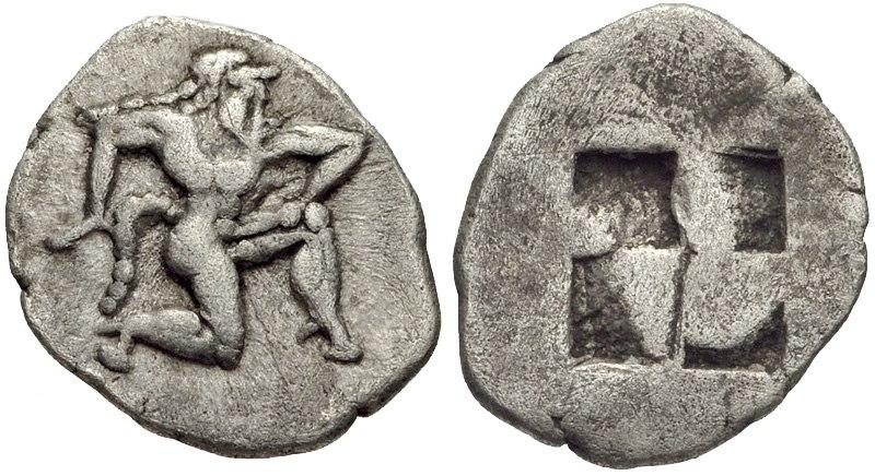 ISLANDS off THRACE, Thasos. Circa 500-463 BC