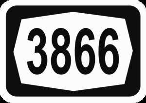 Route 386 (Israel) - Image: ISR HW3866