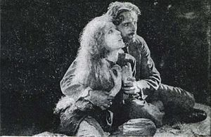 Idols of Clay (1920 film) - Still with Murray and Powell