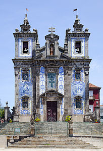 San Ildefonso church, Porto, Portugal
