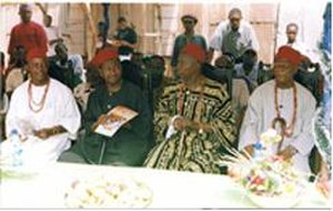 Nnewi - The traditional rulers of Nnewi