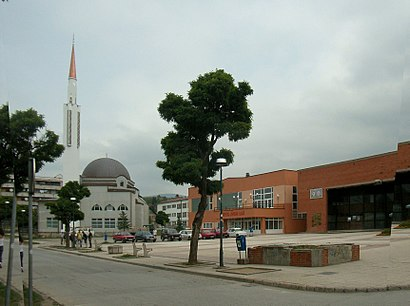 How to get to Ilijaš with public transit - About the place