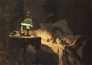 Ill girl (preliminary version) by Vasiliy Polenov.jpg