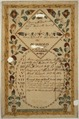 Illustrated family record (Fraktur) found in Revolutionary War Pension and Bounty-Land-Warrant Application File... - NARA - 300061.tif
