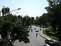 Imam Khomeini st view from skyway - Nishapur 3.JPG