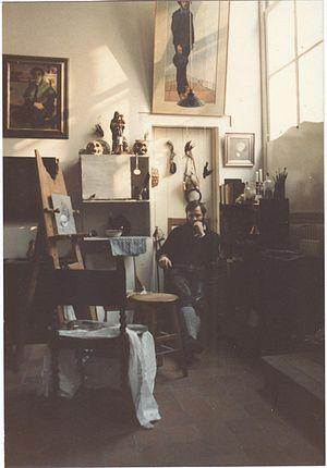 Henri Bol - Image: In his studio