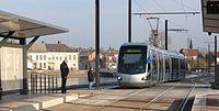 Inauguration de la branche vers Vieux-Condé de la ligne B du tramway de Valenciennes le 13 décembre 2013 (118).JPG