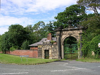Ince Blundell Hall - Lion Gate