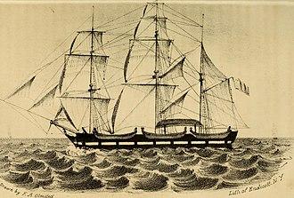 Stephen Girard - North America a bargue built by Stephen Girard (circa 1816).