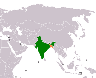 Bangladesh–India relations Diplomatic relations between the Peoples Republic of Bangladesh and the Republic of India