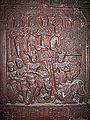 Indian Museum Sculpture - Ajatasattu Approaches the Buddha (9220461570).jpg