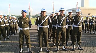 Provost (military police) - Army Military Police of Indonesia