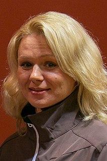 Inga Dauškāne Latvian cross-country skier