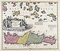 Insula Creta hodie Candia in sua IV territoria divisa cum adjacentibus... - CBT 5883908.jpg