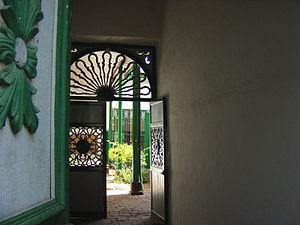 Al interior de una vivienda paisa colonial en Santa Fe de Antioquia