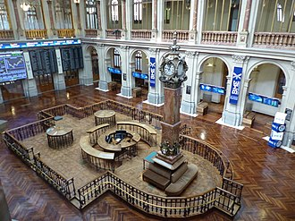 Economy of Spain - Madrid Stock Exchange, the largest and most international of Spain