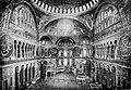 Interior of Sta. Sophia, Constantinople (p10 of 1909historyofdec04gibbuoft).jpg
