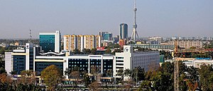 International Business Center. Tashkent city