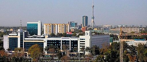 International Business Center. Tashkent city