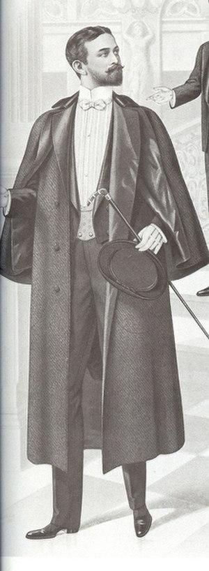 Inverness cape - Image: Invernesscoat 1901