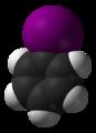 Iodobenzene-3D-vdW.png