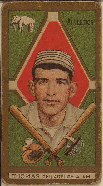 Ira Thomas - Ira Thomas baseball card