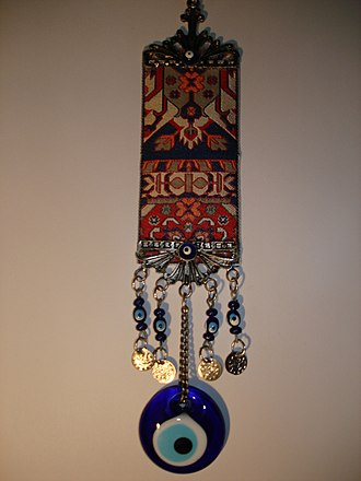 Amulet - Iranian amulet to ward off the evil eye