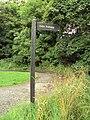 Irby-Arrowe Brook Lane Public footpath 1.JPG